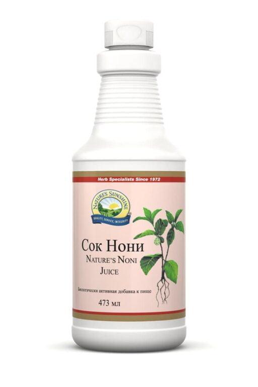 Нэйчез Сок Нони | Nature's Noni Juice